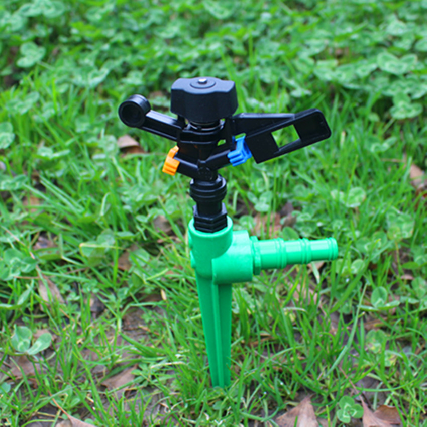 1/2inch Plastic Impact Sprinkler With Stake Support For Lawn and Garden Irrigation Micro and Drip Irrigation OHA1088(China (Mainland))