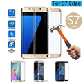 protective glass on the for samsung galaxy s7 screen protector tempered glass film edge 3D Full