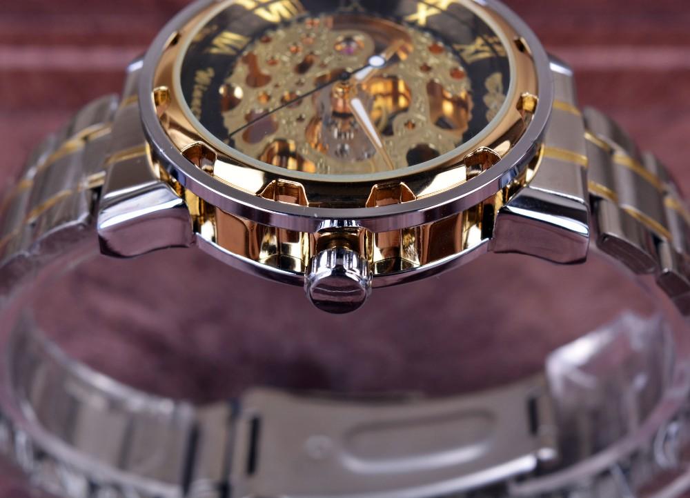 acheter montres en or transparentes montres hommes montres haut de gamme montres relogio montres. Black Bedroom Furniture Sets. Home Design Ideas