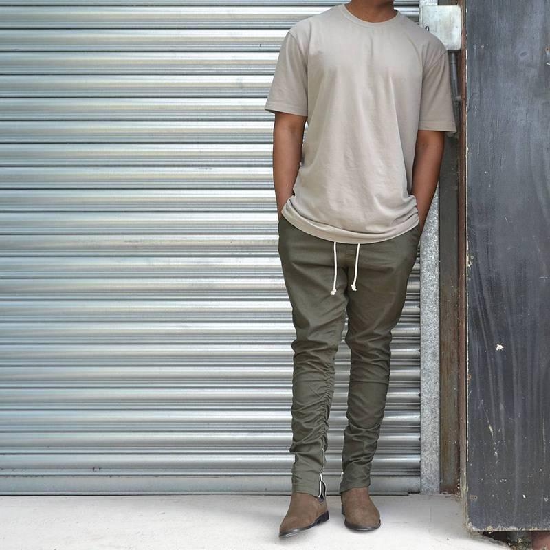 2019 Wholesale Khakiblackgreen Korean Hip Hop Fashion Pants With