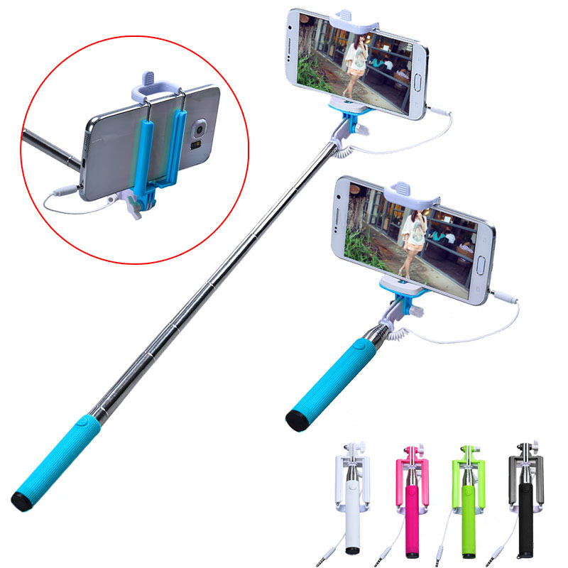 Hot sale Selfie Sticks Gifts 15 50cm Handheld Extendable Self Portrait Stick Tripod Monopod Stick For