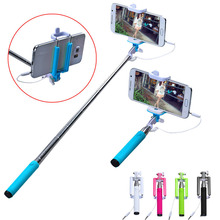Hot sale Selfie Stick 15-50cm New Handheld Extendable Self Portrait Stick Tripod Monopod Stick For iPhone and Android Phone