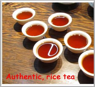 Hot Sale rice tea Flavor Pu er Puerh Tea Chinese Mini Yunnan Puer Tea Gift Tin