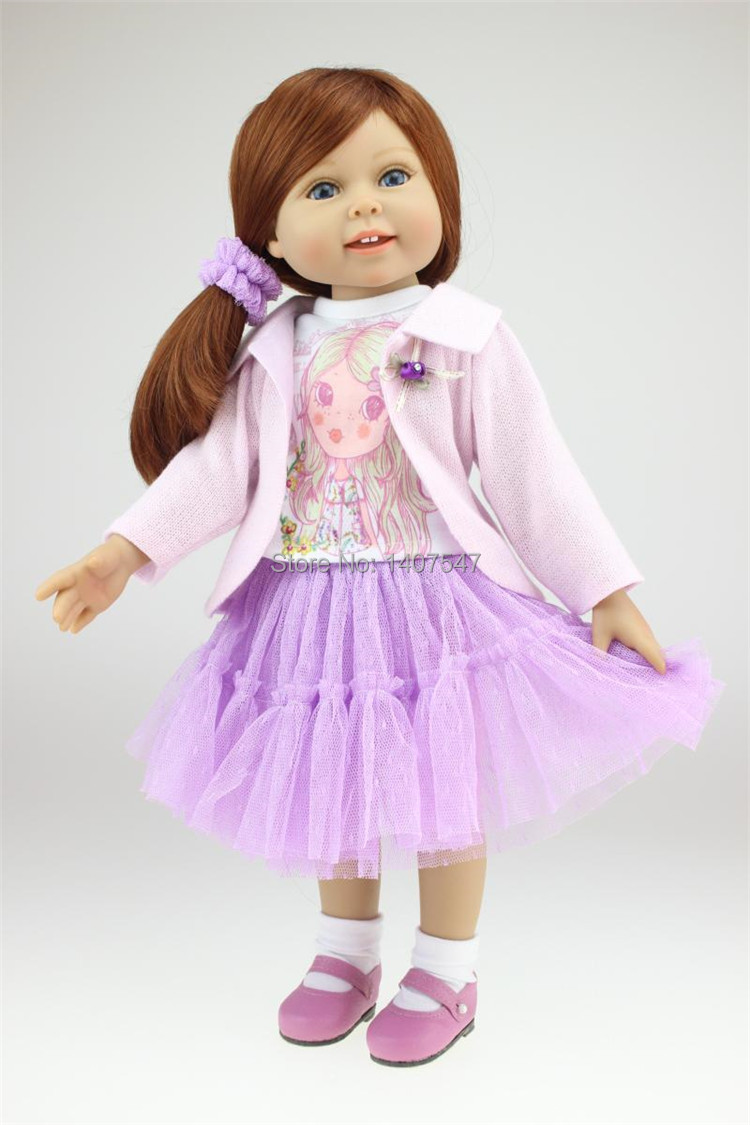 full vinyl 18 inch american princess girl doll for sale baby alive toys handmade dolls for girls. Black Bedroom Furniture Sets. Home Design Ideas
