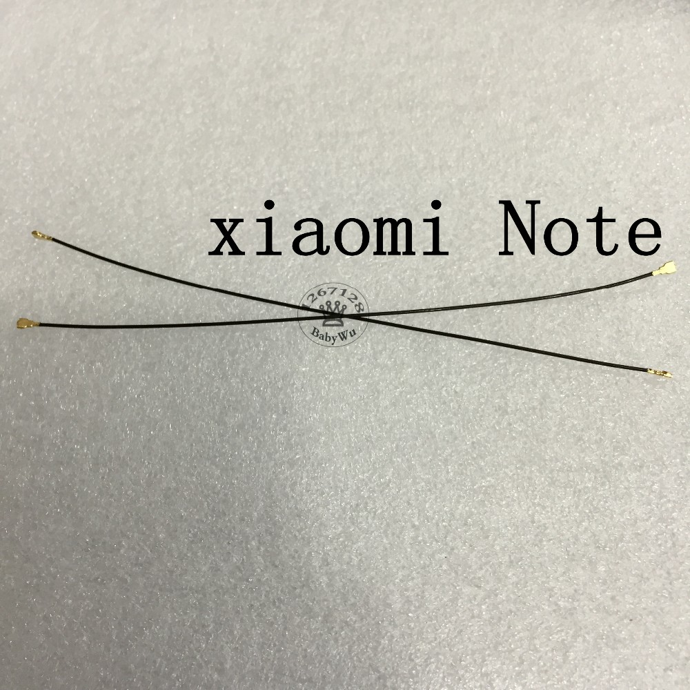 2PCS Antenna Signal Flex Cable for Xiaomi 3 4 for xiaomi Note For xiaomi redmi Note Repair Replacement Spare Parts
