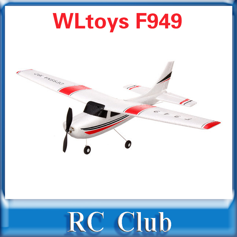 WLtoys F949 Cessna-182 3CH 2.4G RC Fixed Wing Plane RC Glider Electric flying Aircraft EPP RC Airplane<br><br>Aliexpress
