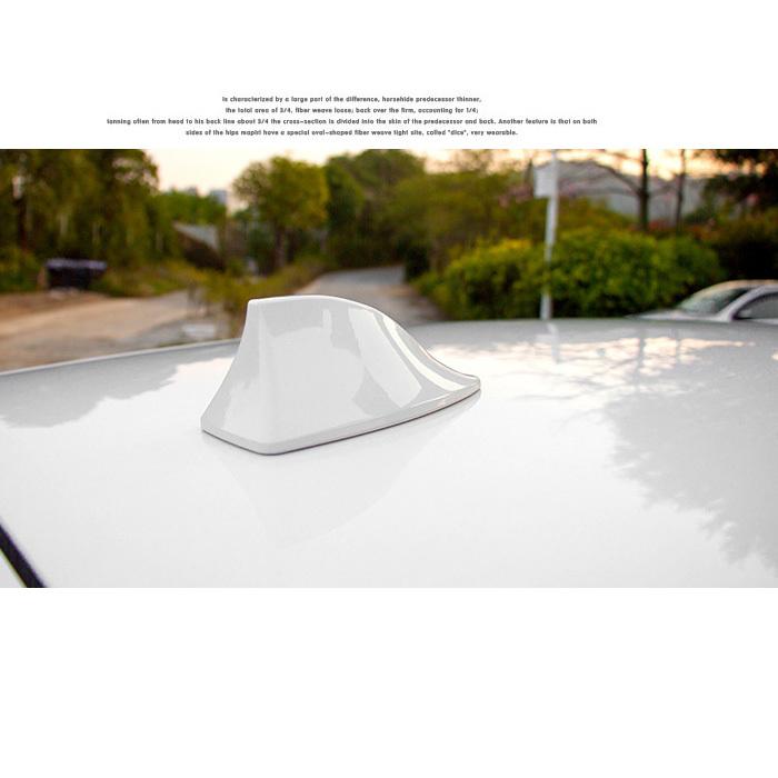 Fashion Decorating Multi Colors Car Stickers ix35 vw Golf Car Styling Radio With Car Shark Fin Antenna For KIA K2 RIO Alfa Romeo(China (Mainland))