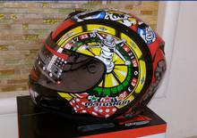 Brand malushun motorcycle helmet Jorge Lorenzo full face helmet motoGP racing helmet moto casco motociclistas capacete DOT