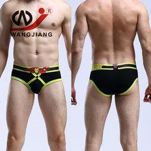 Buy Gay Underwear Men Addicted men underwear Transparent mens sexy underwear Mens Pouch G String Briefs Shorts Cotton Pouch Briefs for $9.48 in AliExpress store