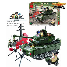 Buy New Tank Blocks Eductional Building Blocks Sets Military Army Makava Tank Children toys Gifts Compatible ed Lbk_qm_052 for $17.17 in AliExpress store