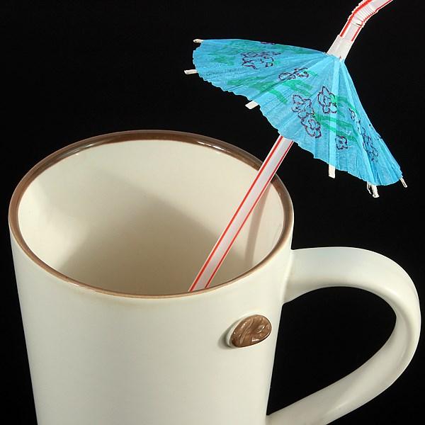 20Pcs Straws Hawaiian Cocktail Umbrella Drinking Juice Straw Novelty Party Decor Supplies Free Shipping(China (Mainland))