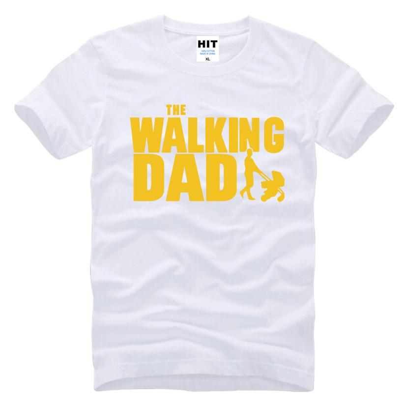 HTB1lpaEKFXXXXcVaXXXq6xXFXXXt - The Walking Dad Fathers Day Gift Men's Funny T-Shirt T Shirt Men 2016 New Short Sleeve Cotton Novelty Top Tee Camisetas Hombre