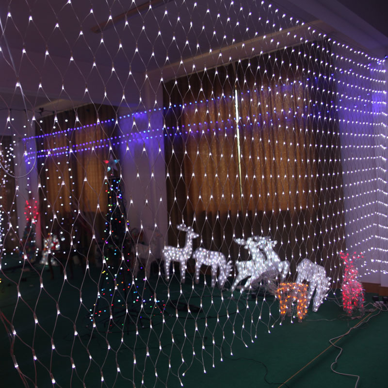 3x6m LED Net Lights 800 SMDs Christmas Natal New Year Garlands Waterproof LED String Indoor/Outdoor Landscape Lighting,Wholesale(China (Mainland))