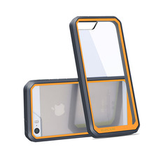 mobile phone case For iPhone SE case Supcase hybrid Transparent Shockproof High quality phone case for iphone5 5s case cover(China (Mainland))