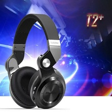 Original Bluedio T2+ Wireless Bluetooth 4.1 Stereo Headphone Headset Earphone Foldable / Stretchable Support TF Card / FM(China (Mainland))