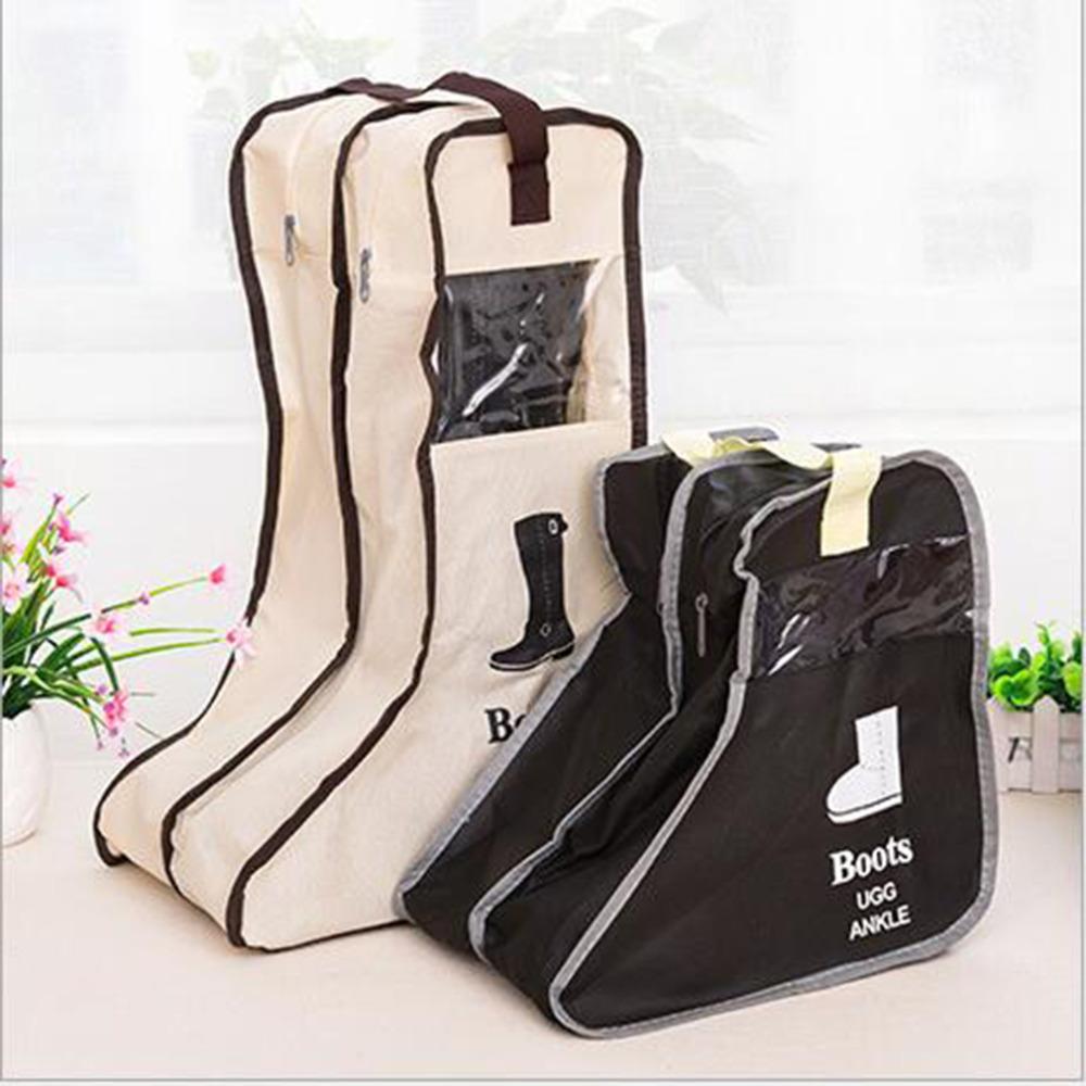 Travel Shoe Pouch Dust bag 3D Cinderella Handbag Special Design Storage capacity Creative Snow Long/Short boots Case Purse(China (Mainland))