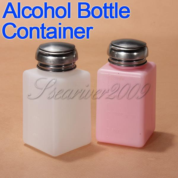 Free Shipping 200ML Capacity Liquid Oil Alcohol Dispenser Clear Bottle Container Anti-Reflux(China (Mainland))