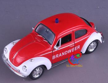 Volkswagen cars beetle police car WARRIOR car model alloy toy child alloy car