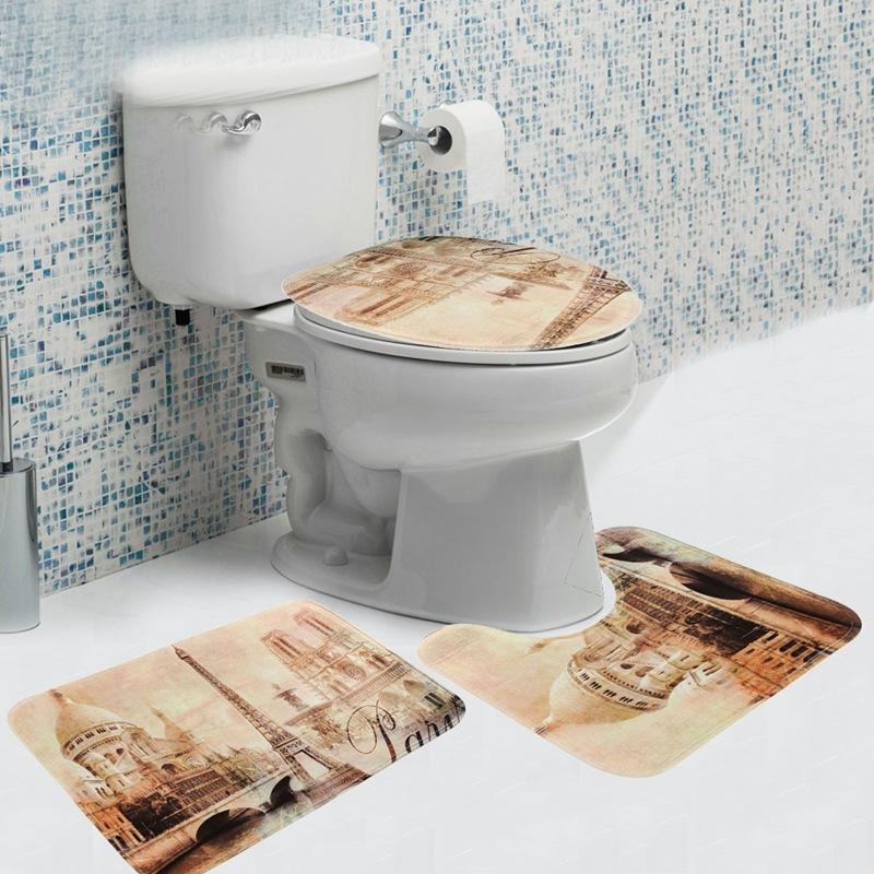Online Kaufen Großhandel wc teppich sets aus China wc