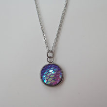 Mermaid Necklace- Never Fade Stainless Chain Holographic Choker Necklace For Mermaid Jewelry Gifts(China)