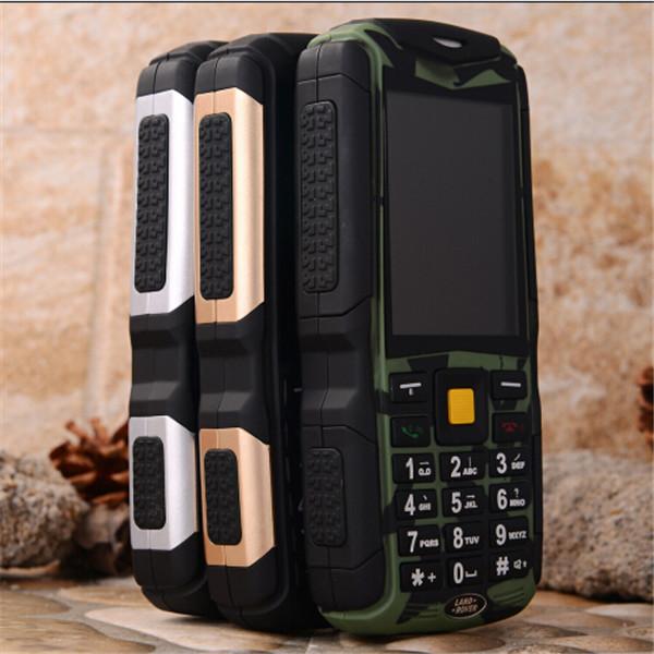 "M12 4500mAh 3 SIM cards CDMA/GSM 2.4"" Big button Waterproof senior old man mobile phone cell phone zug 1 s6 z6 A8 a8n V5+ L6 V8(China (Mainland))"