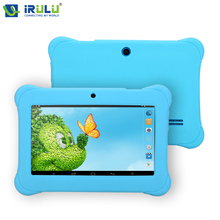 iRULU BabyPad Y1 7″ Android 4.4 Tablet Quad Core With 2800 mAh Google GMS Test 8GB Learning Kids Toy Case Education
