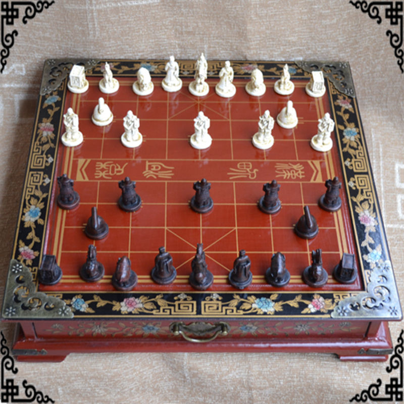 Wholesale cheap new chinese chess set terracotta warriors - Inexpensive chess sets ...