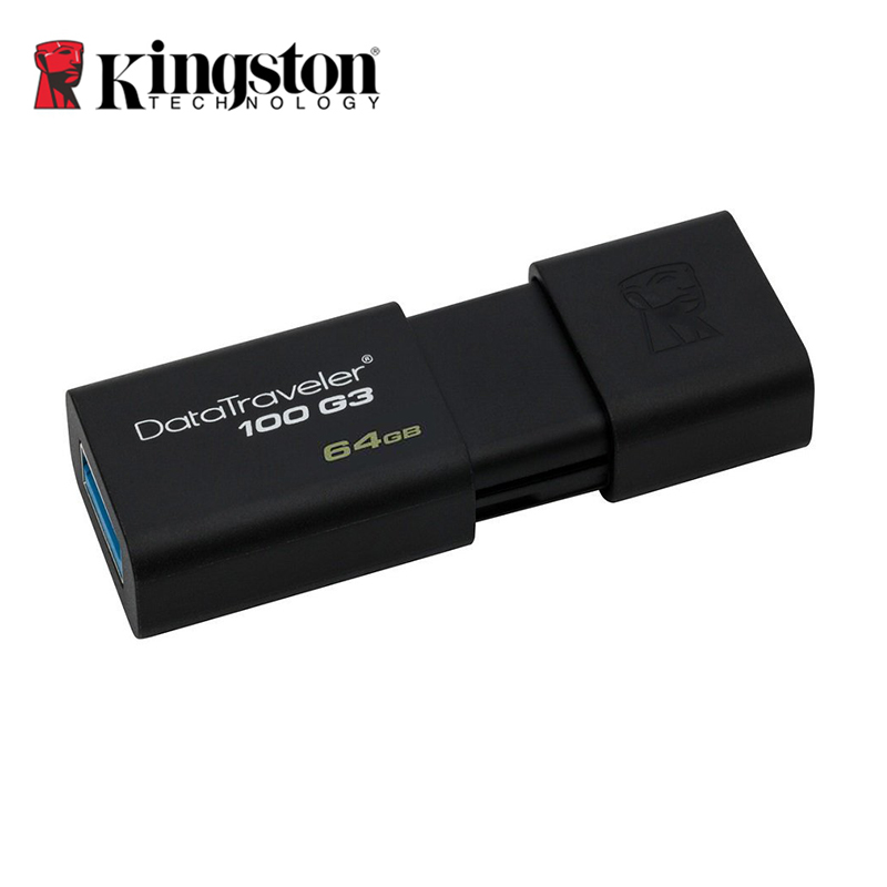 Real Capacity Kingston DT100G3 USB 3.0 USB Flash Drives 8GB 16GB 32GB 64GB Pen Drive Plastic Sleek Memory Memorias Disks(China (Mainland))