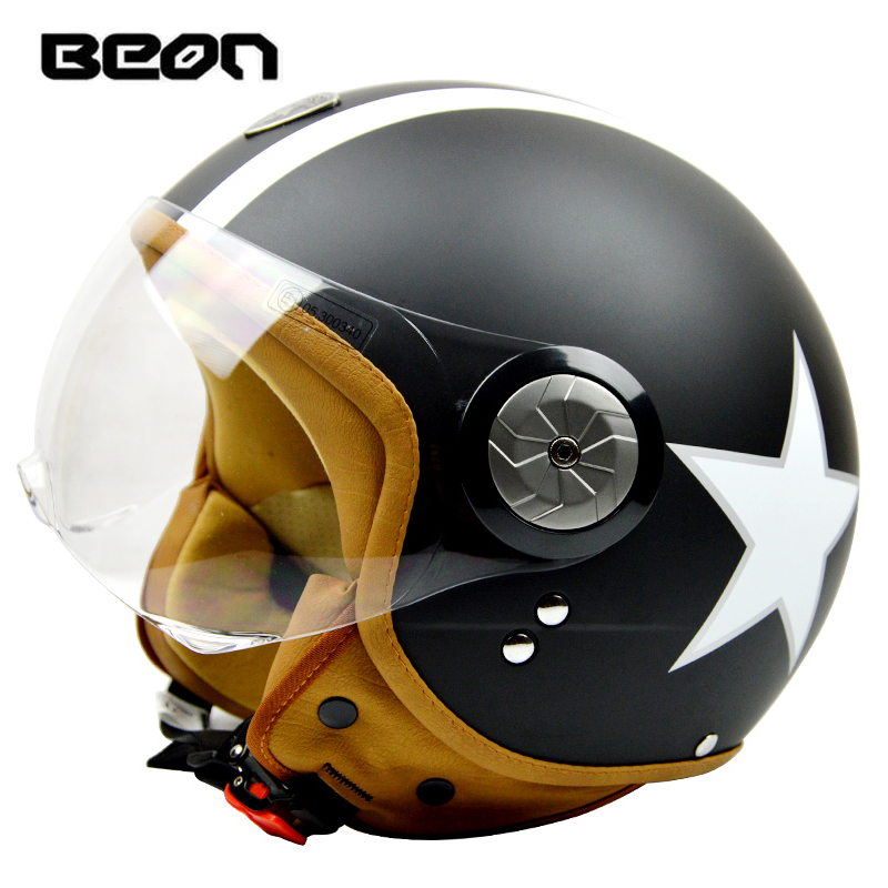 New Vintage Motorcycle Helmet Harley Open Face Retro Half Helmets Moto Motocicleta Capacete Casco Casque free shipping(China (Mainland))