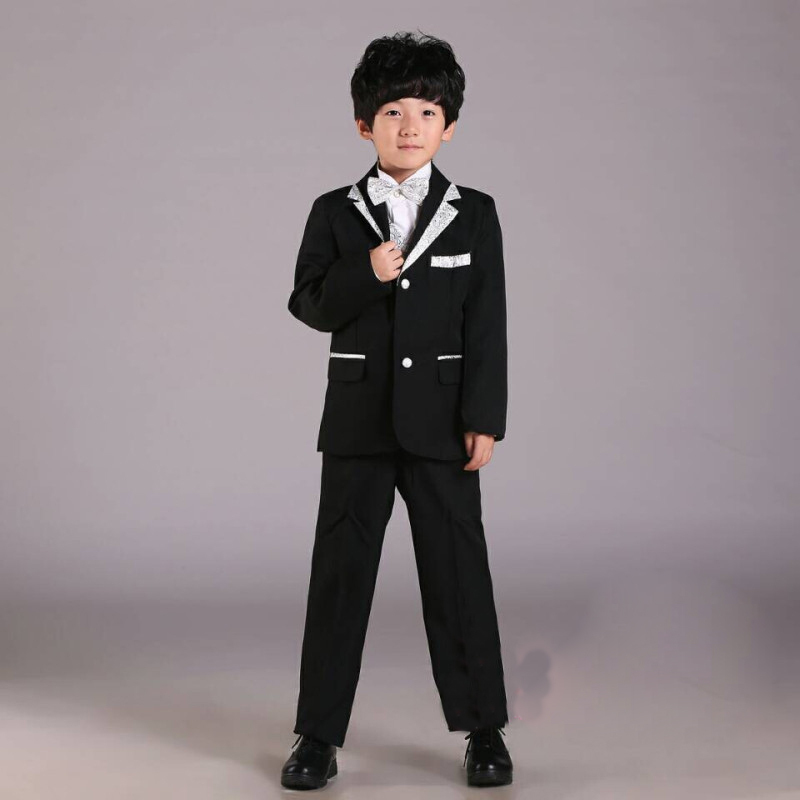 2016 New Arrival Boys Formal Suits For Wedding & Party & Show Kids Clothing Set Page Boys Clothes include 6 items , LC339(China (Mainland))