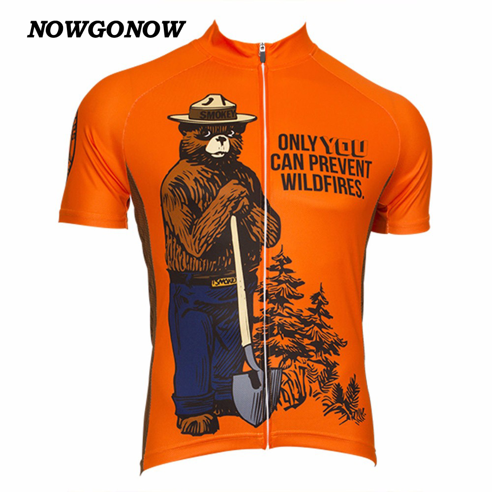 NEW summer cycling jersey classic short orange Retro clothing bike wear mtb road maillot ropa ciclismo Wholesale custom NOWGONOW(China (Mainland))