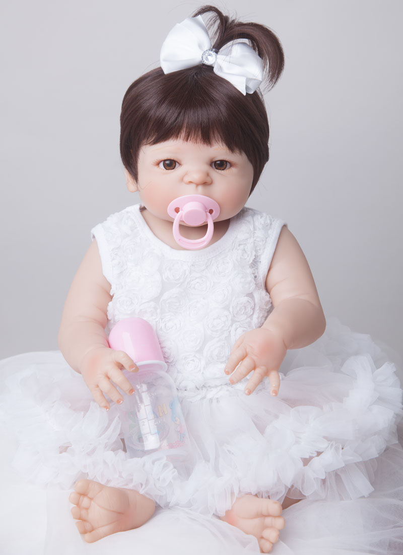 how to make a full body silicone baby doll