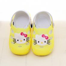 Ciao kitty chaussure enfant estate sapato infantil zoccoli per bambini per la ragazza scarpe per bambini ragazze giardino pantofole 15.5-21.5 cm(China (Mainland))