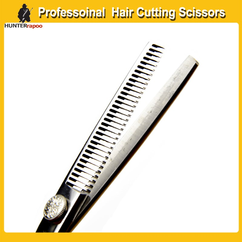 """HUNTERrapoo 6"""" Hair Styling Tools Thinning Shears Teeth Shears,Japanese stainless steel 440C Professional Hairdressing Scissors"""