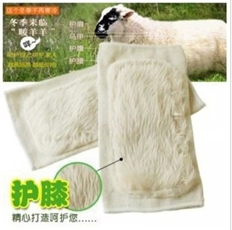 53-07 genuine Wool Angora thickened anti rheumatic arthritis knee knee anti winter warmers(China (Mainland))