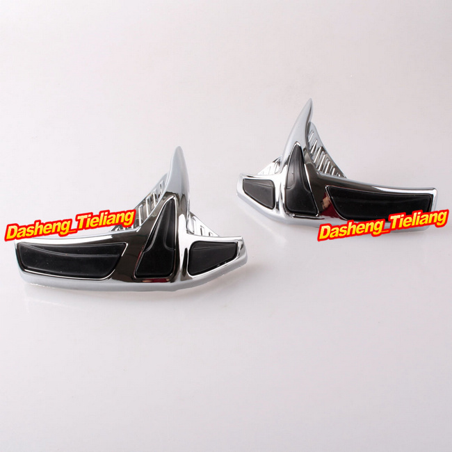 Fairing Front Scuff Protectors Honda Goldwing GL1800 2001-2011 Decoration Boky Kits Parts Accessories Chrome, Brand New