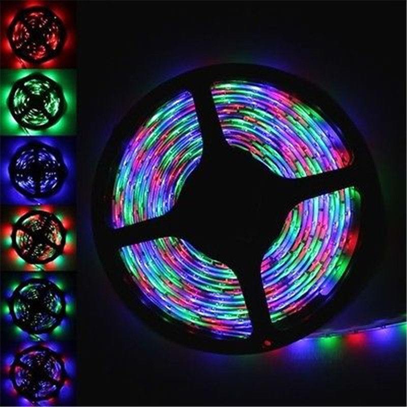 100m 20x 5M 300 LED RGB Waterproof Strip Light 3528 SMD String Ribbon Tape Roll DC 12V(China (Mainland))