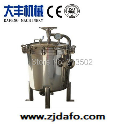 Top entry bag filter for used liquid(China (Mainland))