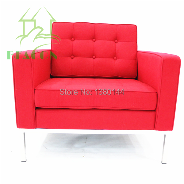 Florence Knoll Sofa 1-seater Armchair(China (Mainland))