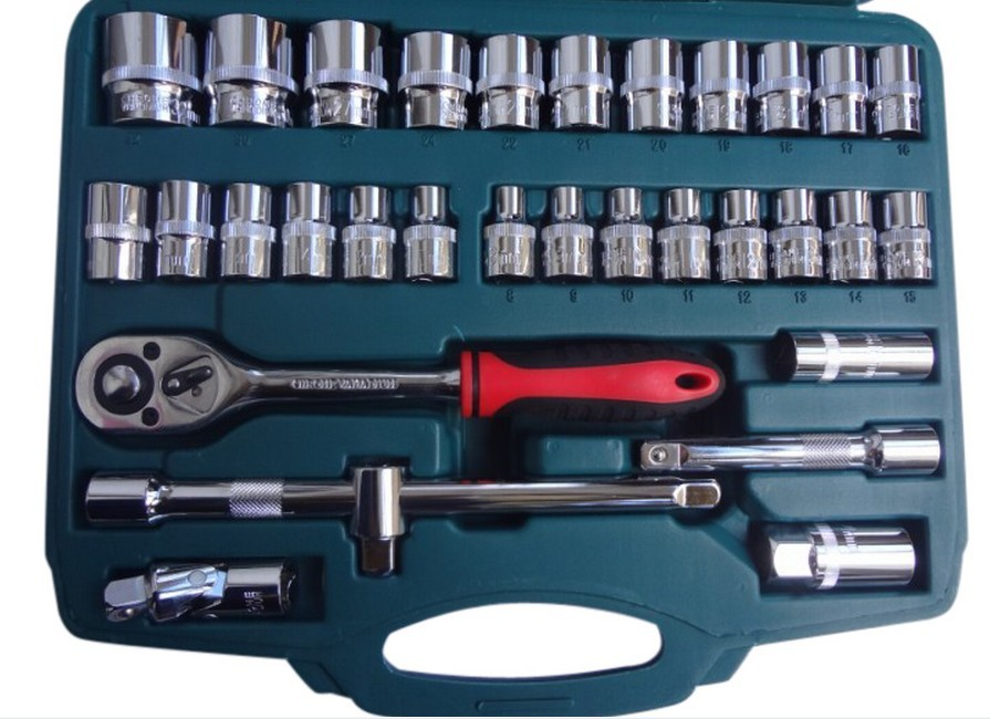 32 socket wrench socket tool set combination ratchet wrench auto repair sleeve Specials