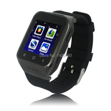 Free shipping 2015 Newest  Smart Watch phone Android 4.4 MTK6572 Dual Core 1.5Inch GPS 5.0MP Camera Bluetooth 4.0