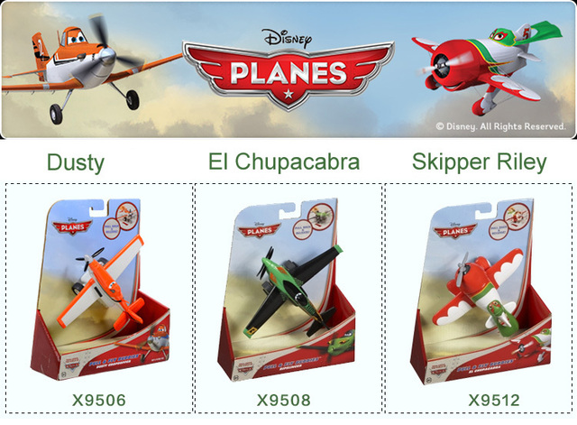 Supernova Sale 3 PCS Pull Back ABS Dusty Planes Brinquedo Aircraft Toys & Hobbies Diecasts & Toy Vehicles Toys