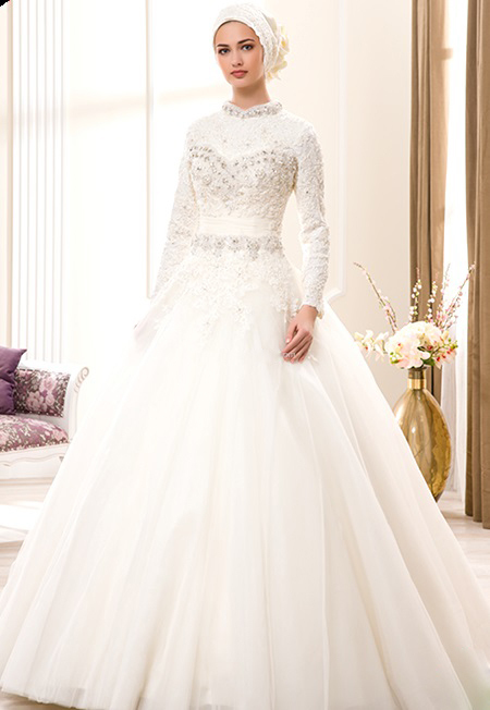 Evgen Fashion Blog Wedding Dresses With Hijab