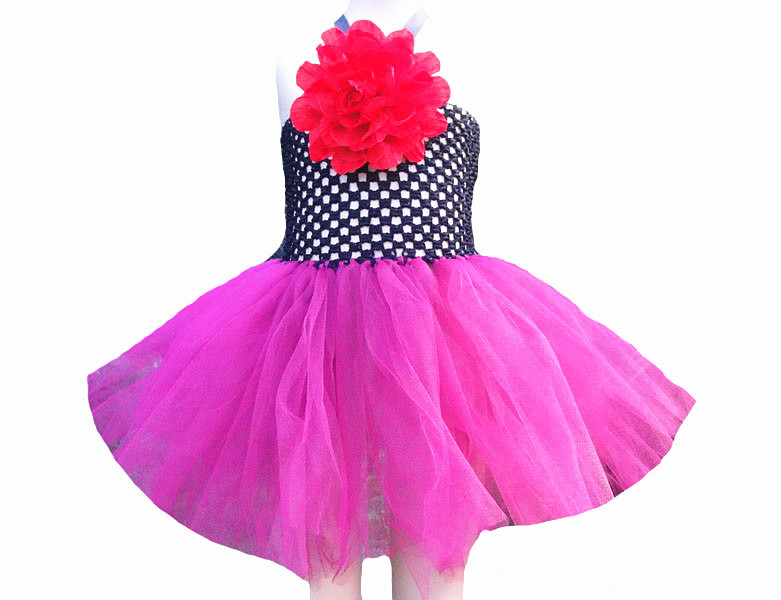 Baby girl flower dresses 2014 summer candy color gauze dress for girl children sleeveless knee-length tutu dresses party dress