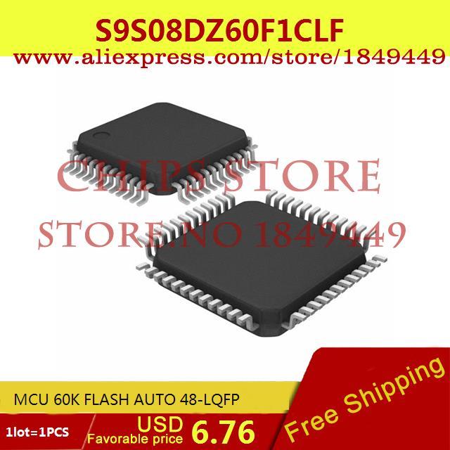 Бесплатная Доставка Электронный Комплект S9S08DZ60F1CLF MCU 60 К ВСПЫШКА АВТО 48-LQFP 9S08 S9S08 1 ШТ. доска для объявлений dz 1 2 j9b [6 ] jndx 9 s b