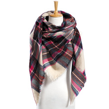Top quality Winter Scarf Plaid Scarf Designer Unisex Acrylic Basic Shawls Women's Scarves hot sale VS051(China (Mainland))