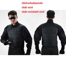 Unique polymer materials self defense stab resistance  vest stichschutzweste cut resistant police tactical clothing schutzweste(China (Mainland))