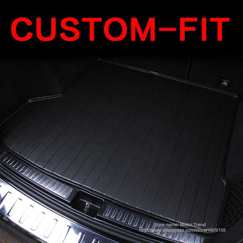 Custom fit car trunk mat for Hyundai ix25 ix35 Elantra SantaFe Solaris Tucson verna Veloster car styling tray carpet cargo liner<br><br>Aliexpress