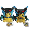 Fashion 2 Style Pikachu Cosplay Mega Charizard X Plush Toys 25cm Kawaii Pikachu Plush Soft Stuffed