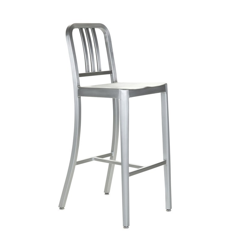 Best Fashion Furniture Navy Chair Aluminum Stool Classic Coffee Chair M